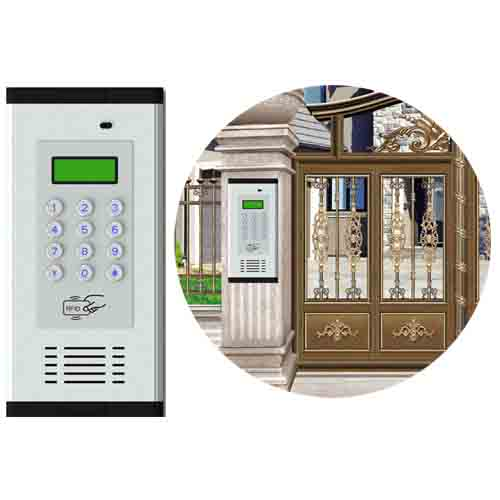 GSM Wireless Apartment Intercom Access WIA-200C Application