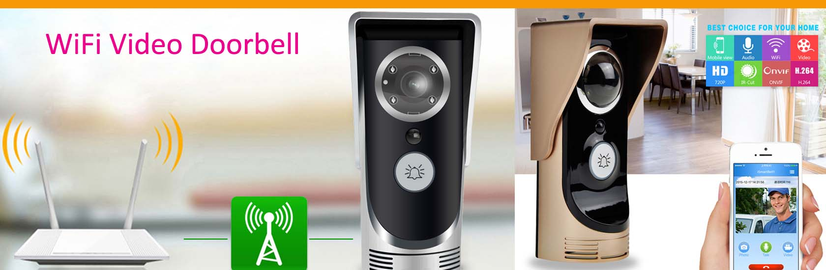 4 WiFi Video Doorbell VF-DB01