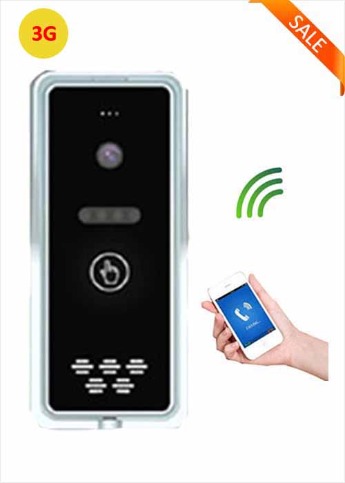 3G Smart Touch Wireless Villa Office Apartment Intercom Access Control GSM Remote Control Free Phone Call Gate Opener WIA-200D