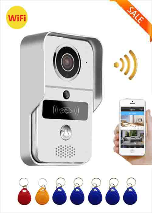 WiFi Video Doorbell AC Powered_VinFine Electronics Hi-Tech Co , Ltd