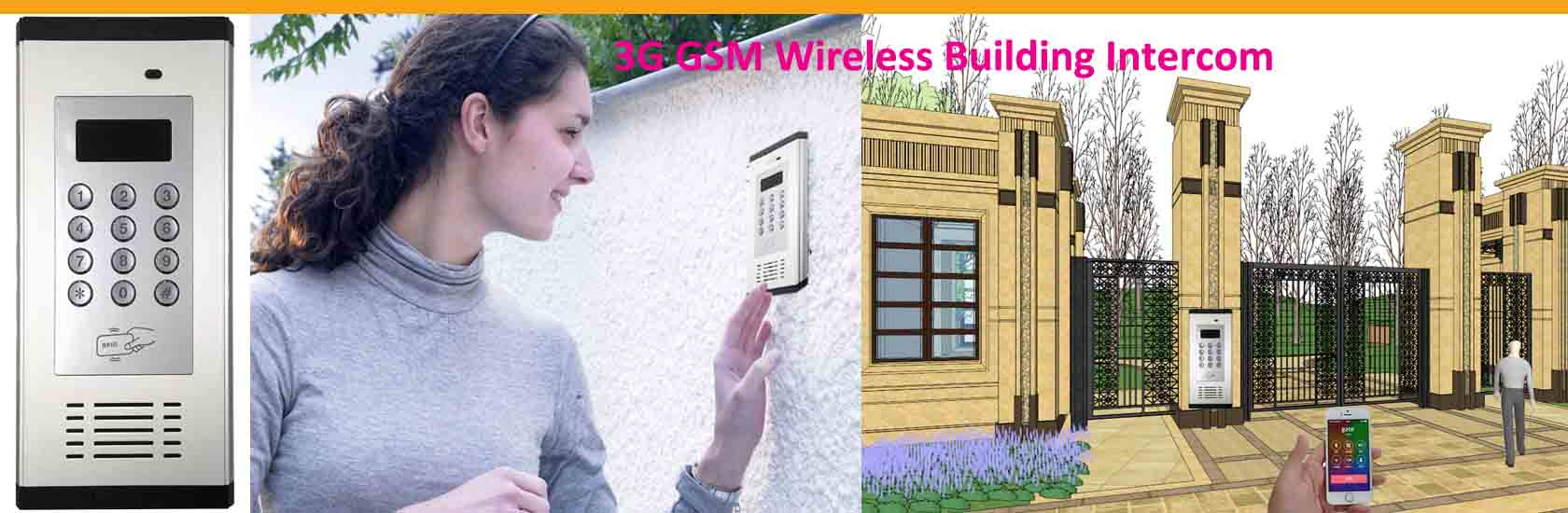 1 3G GSM Building Intercom WIA-200C