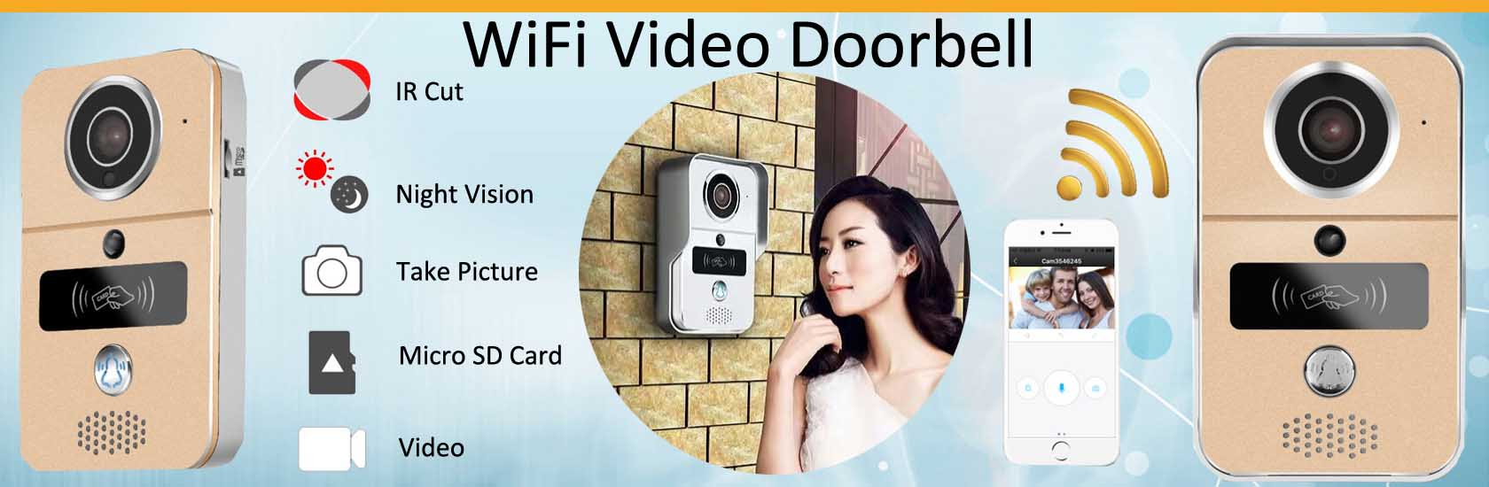 5 WiFi Video Doorbell VF-DB04